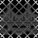Cabel bridge Icon