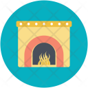 Cabin Fire Heat Icon