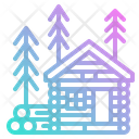 Cabin Wood Hous Icon