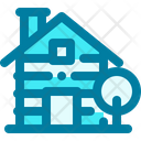 Cabin Wood House Wood Cabin Icon