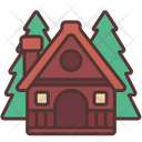 Cabin Hut Forest Icon