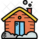 Cabin Cottage Wooden Icon