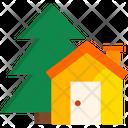 Cabin Wooden Cabin Hut Icon