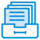 Cabinet Drawer Files Icon