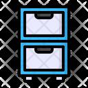 Storage Locker Office Icon