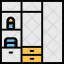 Cabinet Den Furniture Icon