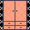 Cabinet Wardrobe Cupboard Icon