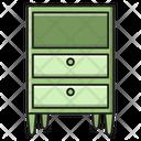 Cabinet Drawer Furniture Icon