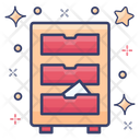 Cabinet Archives Caddy Icon