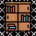 Cabinet Book Shelf Icon