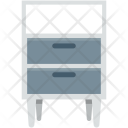 Cabinet Cupboard Drawers Icon