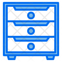 Cabinet Furniture Office Icon