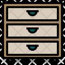 Cabinet Furniture Interior Icon