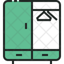 Cabinet Clothes Dress Icon