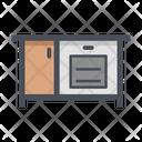 Cabinet Drawer Storage Icon