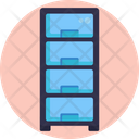 Cabinet Drawers Document Icon