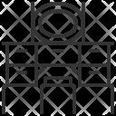 Cabinet Decoration Design Icon