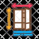 Cabinet Size Market Icon