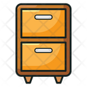Chest Of Drawers Cabinets Furniture Icon