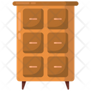 Cupboard Drawers Cabinets Icon