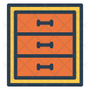Cabinets Drawer Boxes Icon