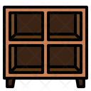 Cabinets Storage Living Room Icon