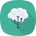 Cable Cloud Computing Icon