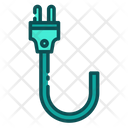 Cable Plug Electric Icon