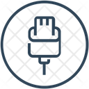 Cable Charge Connector Icon