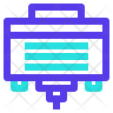 Cable Connector Port Icon
