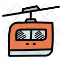 Cable Car Rail Icon