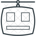 Cable Car Chairlift Icon