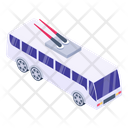 Trolleybus Cable Bus Cable Vehicle Icon