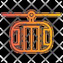 Cable Car Cablecar Cabin Car Icon