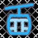 Winter Cable Car Antarctica Icon