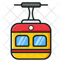 Cable Car Chair Lift Cable Transport Icon