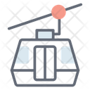 Chairlift Cable Car Cableway Icon