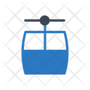 Chairlift Ropeway Travel Icon