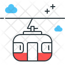 Cable Car Ropeway Car Icon