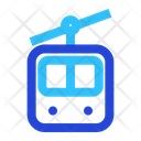 Cable Car Winter Snow Icon