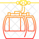 Cable Car Transport Ski Lift Icon