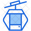 Cable Car Transport Ropeway Icon