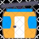 Cable Car Gondola Cableway Icon