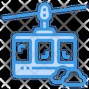 Cable Car Railway Subway Icon