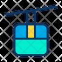 Cable Gondola Car Icon