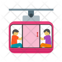 Cable Car Ride Icon