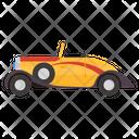 Cabriolet Car Transport Icon