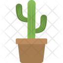 Cactus Potted Small Icon