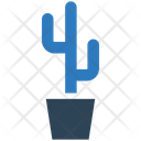 Business Financial Cactus Icon