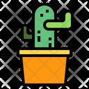 Cactus Gardening Agriculture Icon